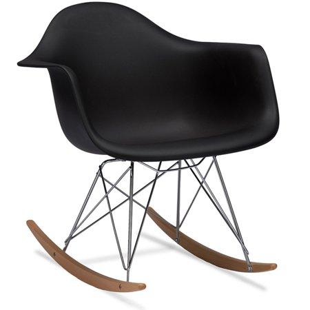 Astounding Baxton Studio Dario Mid Century Rocking Chair Forskolin Free Trial Chair Design Images Forskolin Free Trialorg