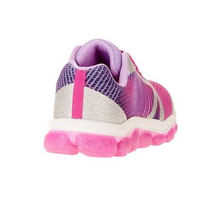 Athletic Works Girls' Bubble Athletic Shoe