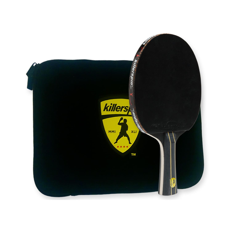 intermédiaire TABLE TENNIS BAT5 Killerspin Jet Black ping pong raquette Combo