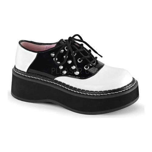 Women's Demonia Emily 303 Saddle Shoe by PleaserUSA