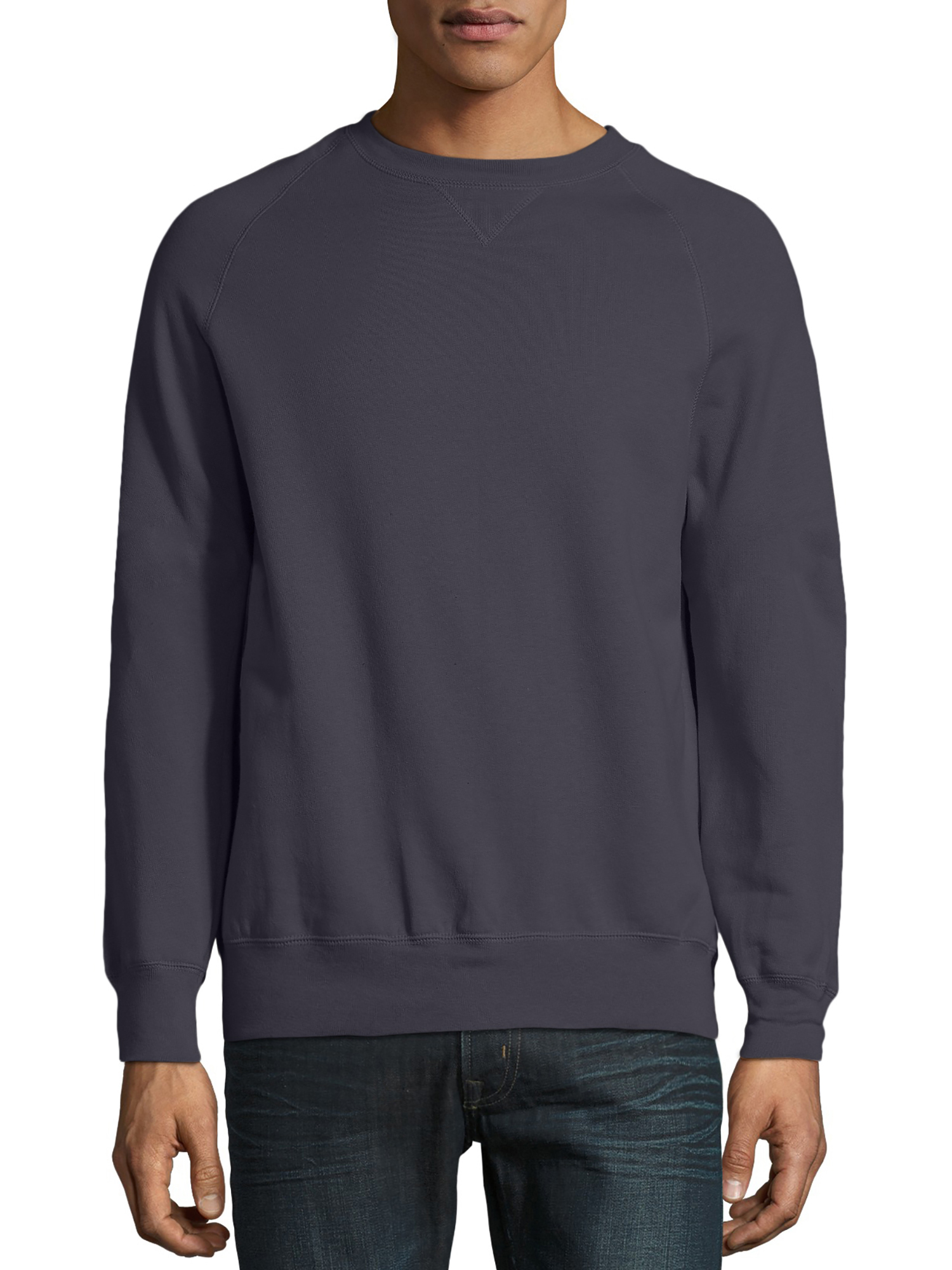 Hanes Mens Nano Fleece Crewneck Sweatshirt S M L XL 2XL 3XL N260