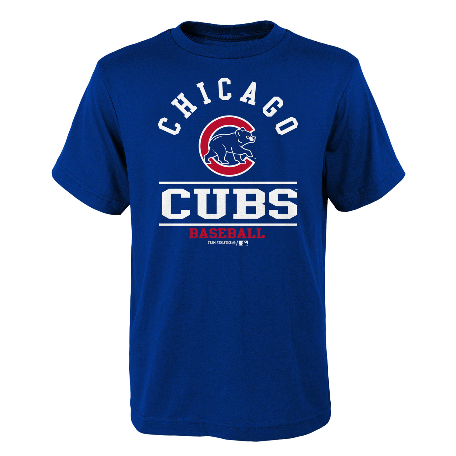 Youth Royal Chicago Cubs Arch T-Shirt
