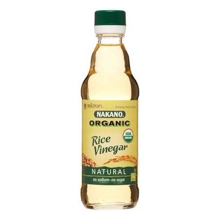 Ginger Rice Vinegar - Nakano Original Natural Rice Vinegar, 12 Oz