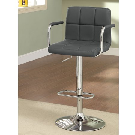 Wondrous Furniture Of America Justin Contemporary Gray Counter Height Bar Stool Alphanode Cool Chair Designs And Ideas Alphanodeonline