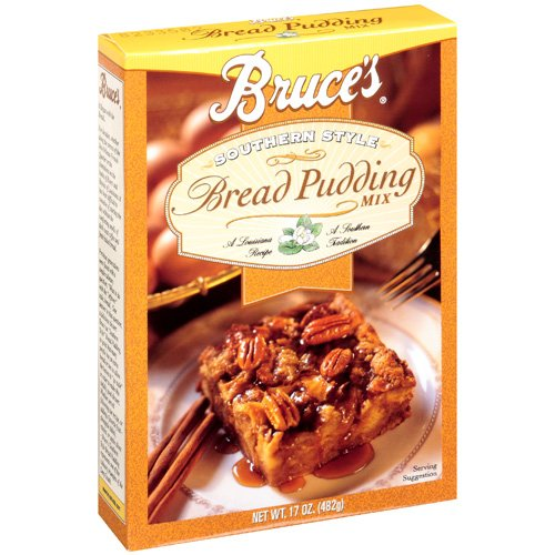 Bruce's Bread Pudding Southern Style Mix, 17 oz