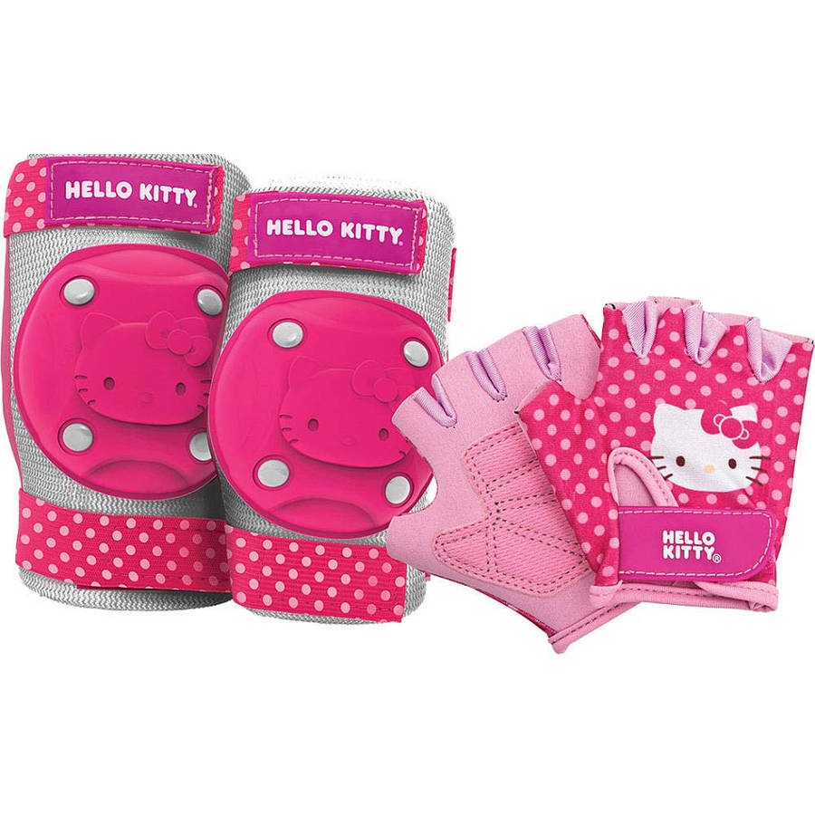 Bell Hello Kitty Pedal-and-Go Protective Gear, Pink