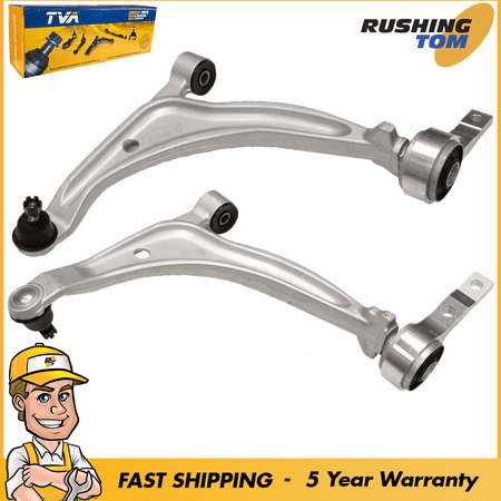 2 Front Lower Control Arms W/ Bushings And Ball Joints Fits Nissan Altima