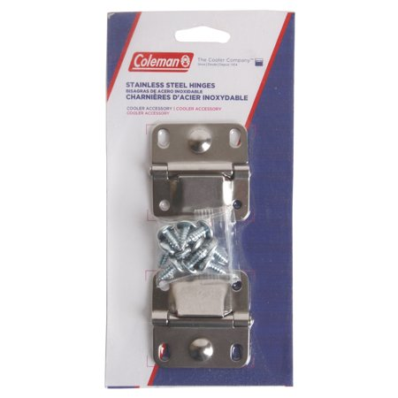 Stainless Hatch Hinges (2pk Coleman Cooler Stainless Steel Hinges Replacement )