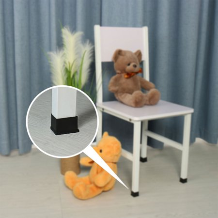 "Desk Table Leg Caps End Tip Home Furniture Protector 14pcs 1.18""x2.36"" (30x60mm) - image 5 de 7"