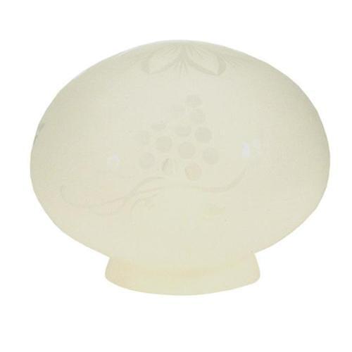 Meyda Tiffany 10231 5. 5 Inch W X 4 Inch H Frost Grape Etched Globe Shade by