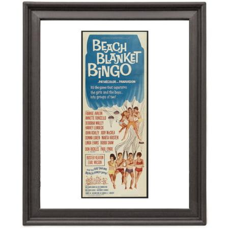 Life Picture Bingo - Beach blanket bingo - Picture Frame 8x10 inches - Poster - Print