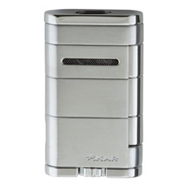 Xikar xi533SL Allume Double Jet Silver Lighter - image 1 of 1