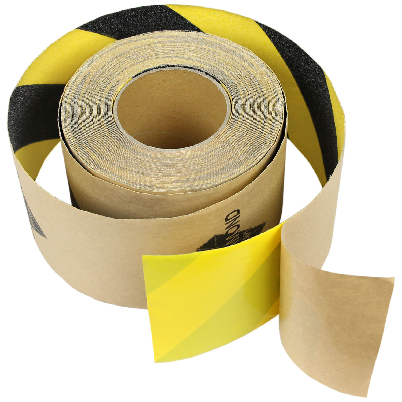 "3"" x 10' CAUTION Roll Safety Non Skid Tape Anti Slip Tape Sticker Grip Safe Grit"