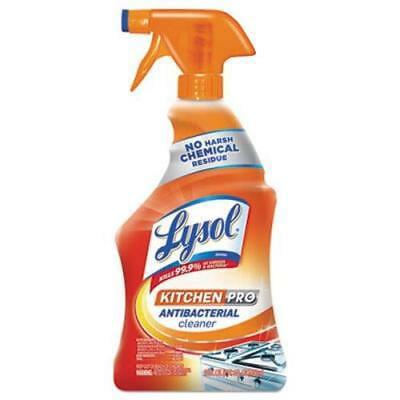 Lysol Brand Pro Antibacterial Cleaner, Citrus, 22-oz, 9 Spray
