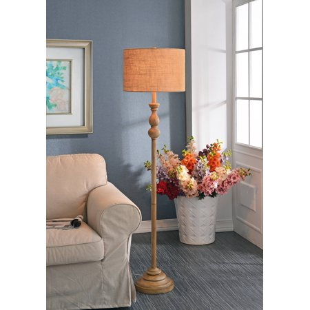 3-way Bennett Floor Lamp Toasted Almond Finish - Kenroy Home