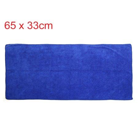 3pcs 400g/m2 65 x 33 cm Eau Multi Usage Microfibre Absorbant Serviette Nettoyage Voiture - image 1 de 7