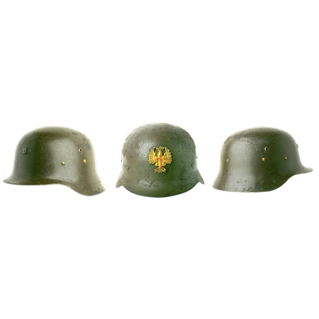 LAMINATED POSTER Army Ammunition Soldier's Helmet Soldier Helmet Poster Print 24 x - Soldier With Helmet