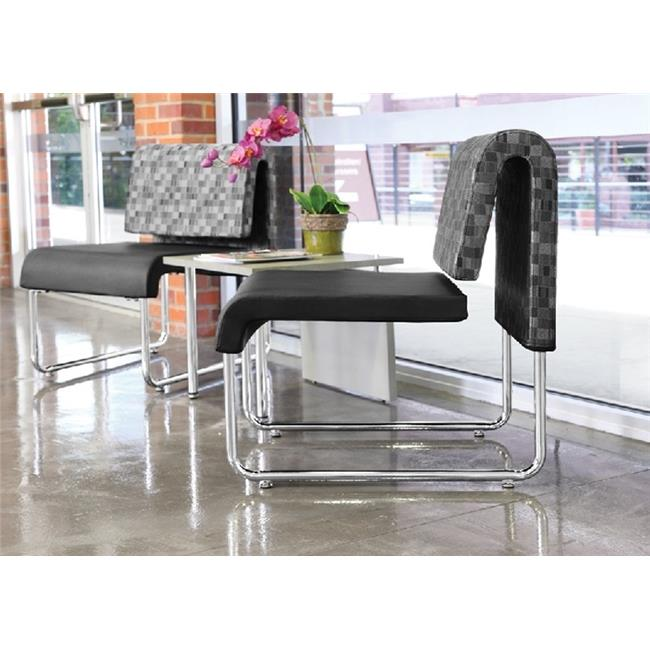 OFM PKG-LNGE-05-0002 Lounge Room Package Featuring One Profile Series End Table & Two Uno Series Lounge Chairs