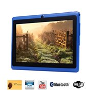 Tagital 7'' Quad Core Android 4.4 KitKat Tablet PC, HD Screen 1024x600, 8GB, Bluetooth, Dual Camera, Netflix, Skype, 3D Game Supported