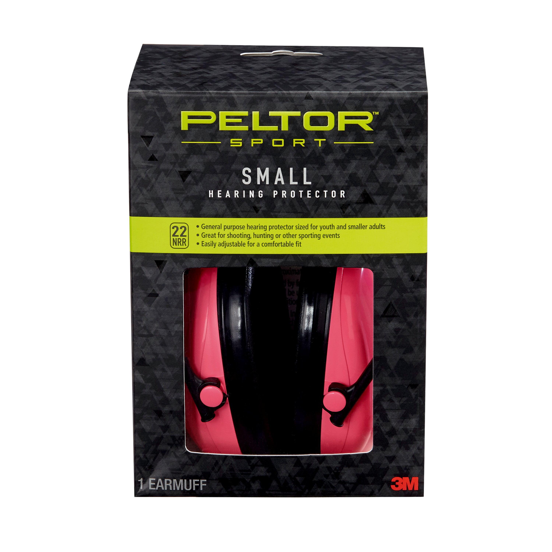 <span >Peltor Sport Junior Earmuff, Blue or Pink Small</span>