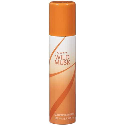 Wild Musk Body Spray for Women by Coty, 2.5 fl oz