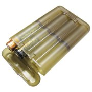 Condor Battery Case, 4 Sets / Pack, Tan / Brown,