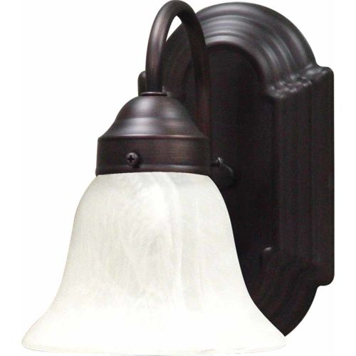 Volume Lighting V6451 Minster Wall Sconce with 1 Light and Alabaster Glass