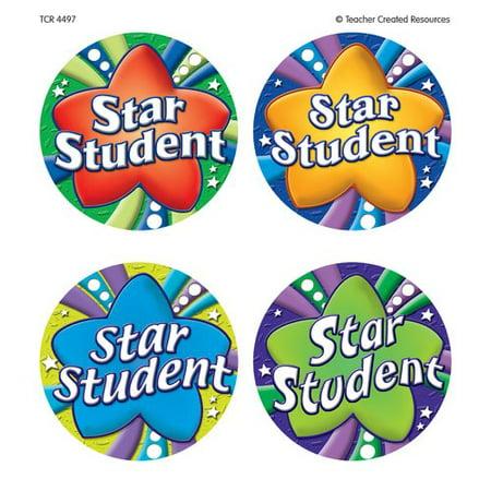 Teacher Created Resources Star Student Wear Em Badges Award