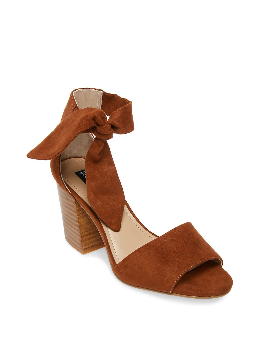 Oni Ankle Bow Strap Sandals