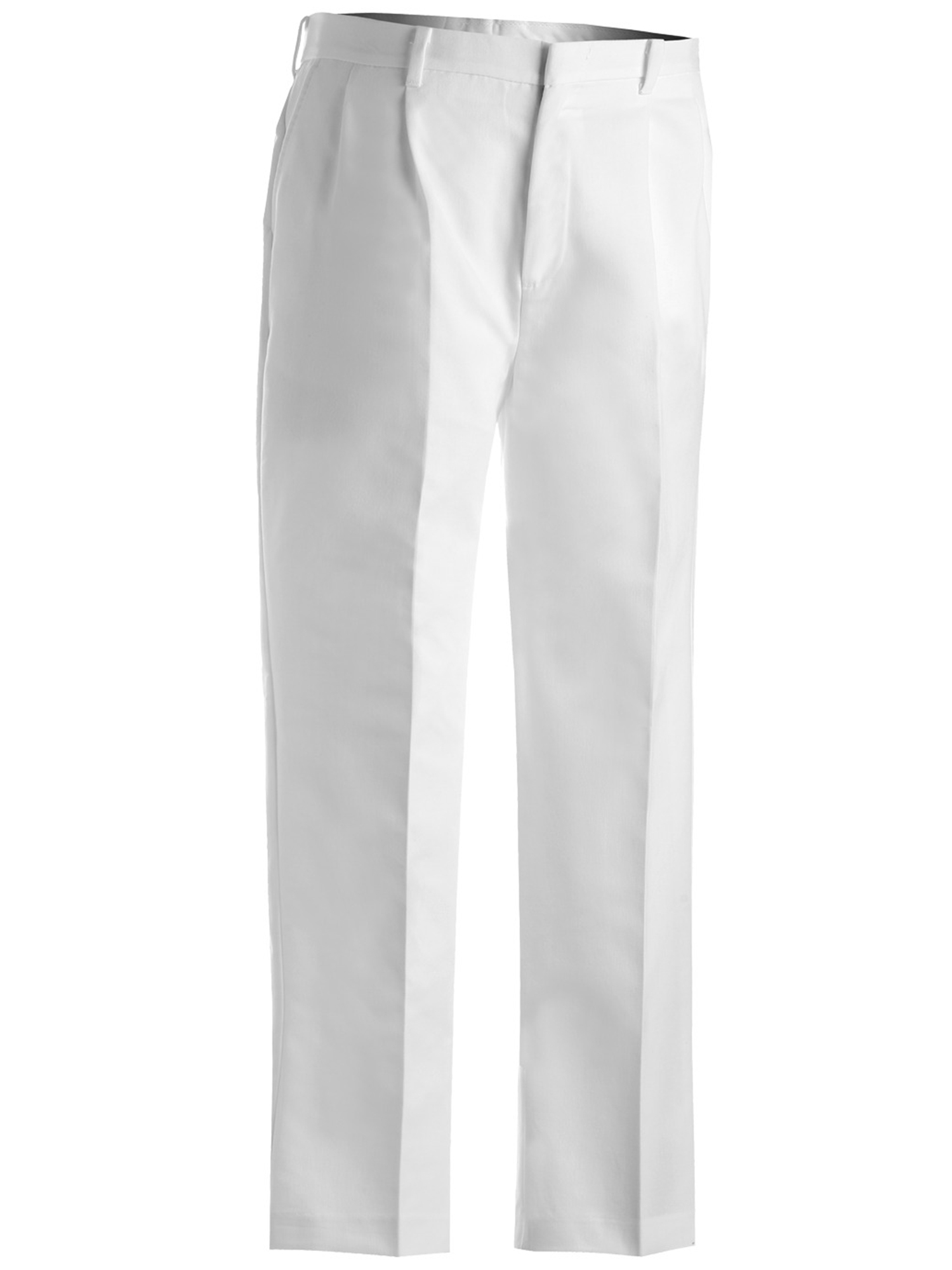 Ed Garments Men's Tall Business Casual Chino Pleated Pant, WHITE, 28 34