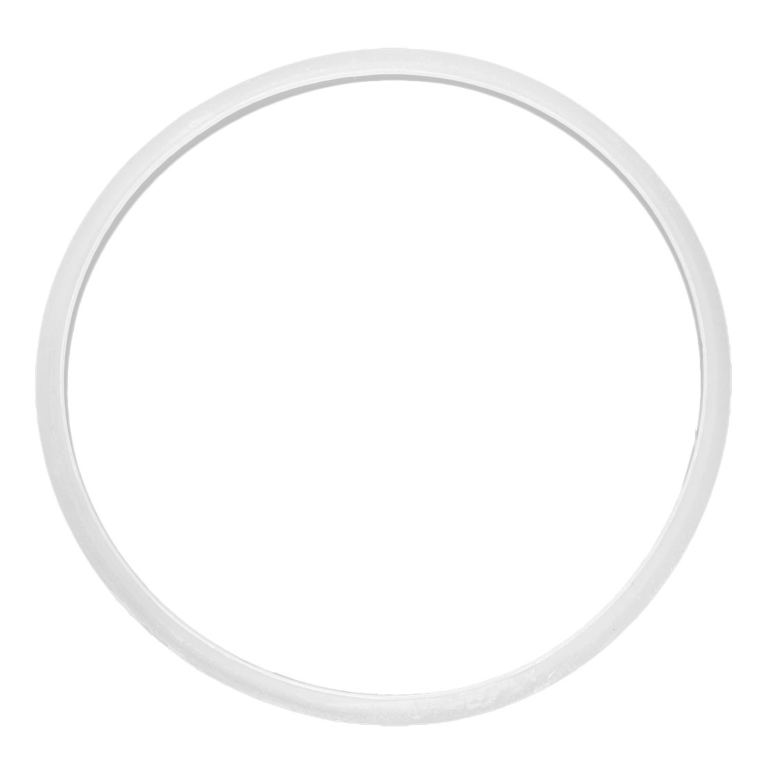 Home Rubber Airtight Pressure Cooker Part Sealing Ring White 30cm Inner Diameter