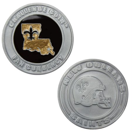 Challenge Coin Card Guard - New Orleans Saints