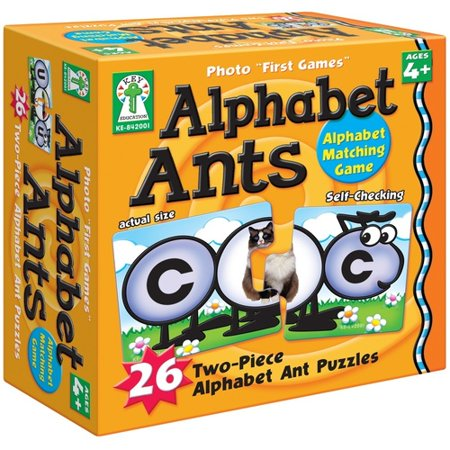 Photo First Games: Alphabet Ants Board Game Grade Toddler-1