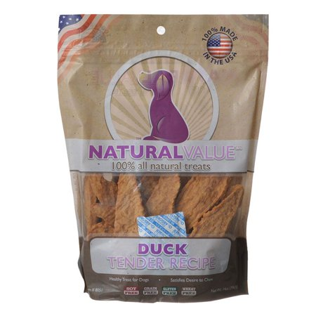 Loving Pets Natural Value Duck Tenders 16 oz - Pack of 3 - Pets Of Oz