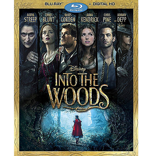 Into The Woods (Blu-ray   Digital HD) (Widescreen)