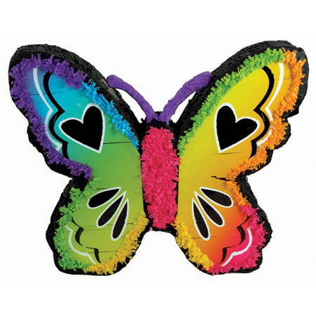 Neon Butterfly Pinata - Butterfly Pinata