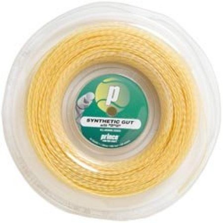 Prince Synthetic Gut DuraFlex 16G (660 ft.) REEL Color: Gold