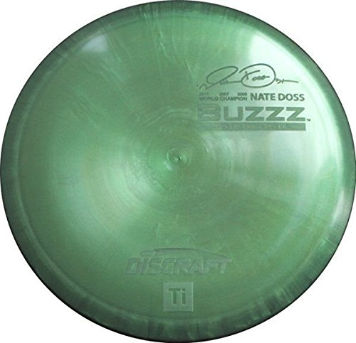 Discraft Disc Golf Titanium Buzzz Nate Doss Midrange Driver Colors May Vary, Class:... by