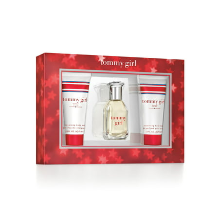 Tommy Hilfiger Tommy Girl Perfume Gift Set for Women, 3 piece ()
