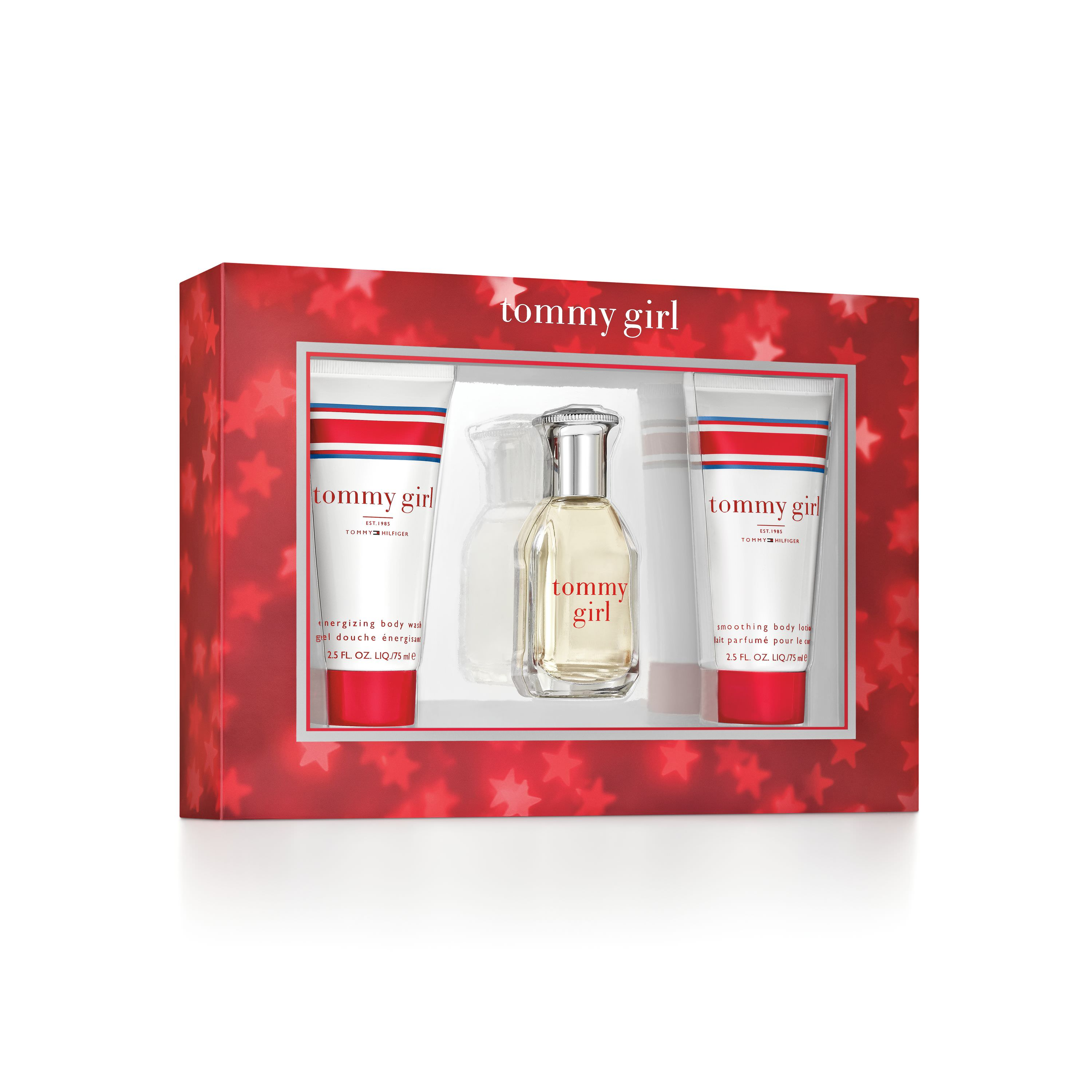 Tommy Hilfiger Tommy Girl Perfume Gift Set for Women, 3 piece