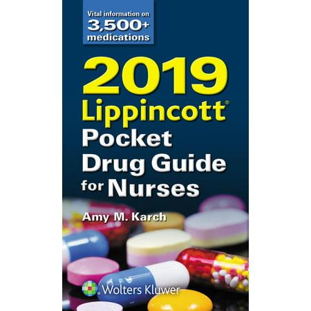 2019 Lippincott Pocket Drug Guide for Nurses