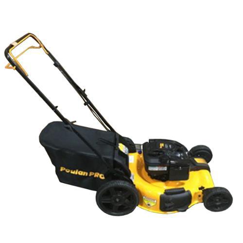 Poulan Pro 675 Series Briggs & Stratton Walk Behind Lawn Mower, Yellow | P22FWGD