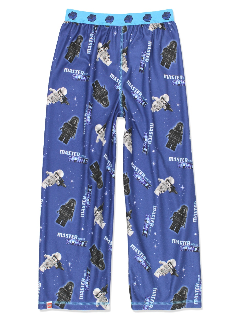 Lego Star Wars Boy's Flannel Lounge Pajama Pants (Little Kid/Big Kid) F17B97LW