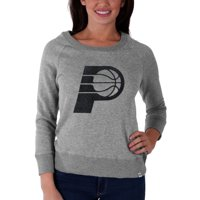 Indiana Pacers '47 Brand Women's Glimmer Crew Tri-Blend Sweatshirt - Gray