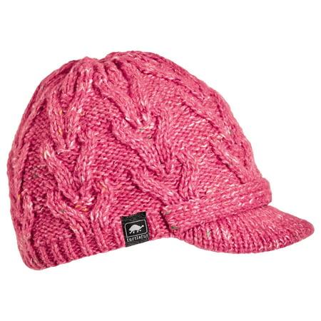 Turtle Fur Simone Women's Wool Blend Visor Beanie Fully-Lined w/fleece Fully Lined Hat