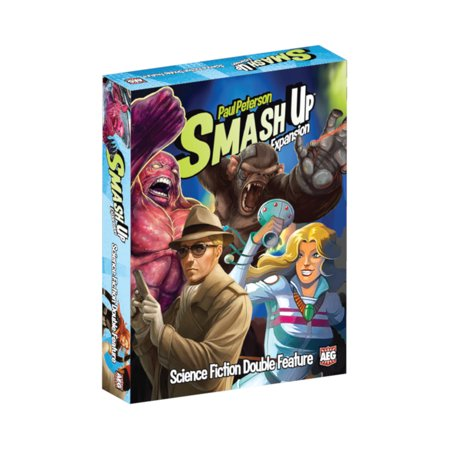 Alderac Entertainment Group (AEG) Smash Up: Science Fiction Double Feature Expansion Card Game - Group Halloween Games