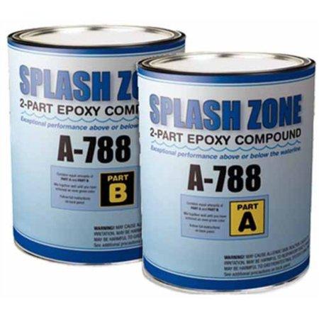 Easypoxy Pettit Paint (Pettit Paint A788Q  A788Q; Splash Zone Quart Kit )