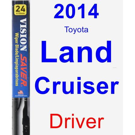 2014 Toyota Land Cruiser Driver Wiper Blade - Vision Saver