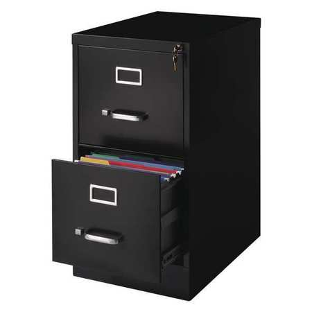 Charmant Hirsh 22 Inch Deep 2 Drawer, Letter Size Vertical File Cabinet,