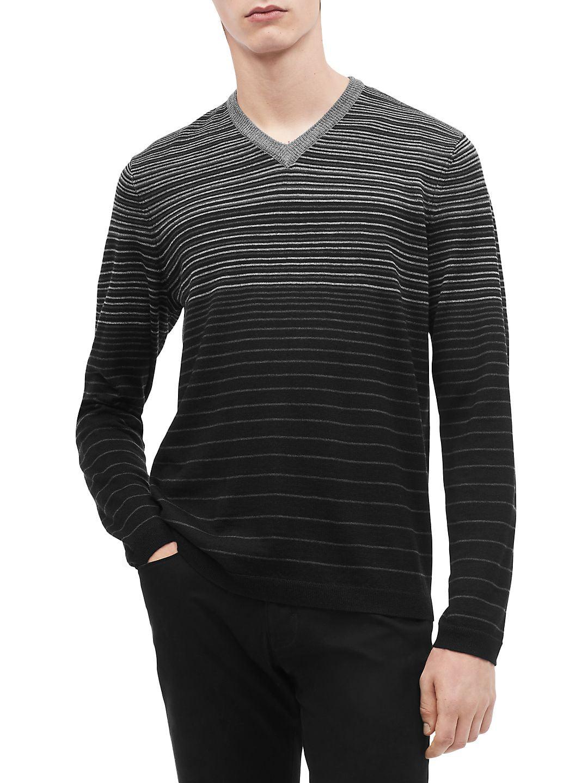 Calvin Klein - Graduated Striped Sweater - Walmart.com 1bbb991ce